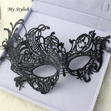 Venetian Lace Floral Eye Masquerade Mask