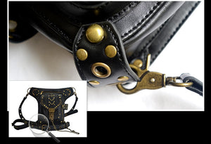 BLASTER Leather Holster Hip Waist and Shoulder Bag