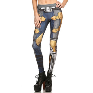 Steampunk Cosplay #3 Leggings for Women