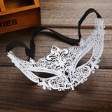 Fashion 2 Color Metal Filigree Venetian Beautiful Luxury Masquerade Mask Mardi Gras Party Sexy Eye Mask Macka with Rhinestones