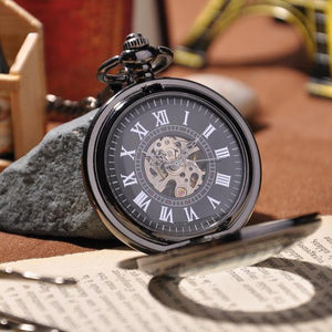 Steampunk Mechanical Pocket Watch