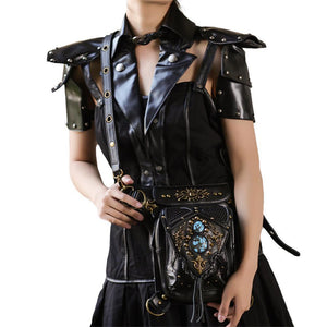 Steampunk Waist Leg Bags Women Men Unisex Victorian Style Holster Bag Retro Rock Shoulder Packs Gothic Hip Bags Fashion Heuptas