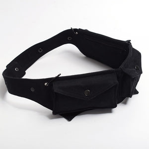 Steampunk Women Waist Bag Utility Belt Bag Festival Belt Bag Hooping Hip Belt Sexy Burlesque Costume Accessory