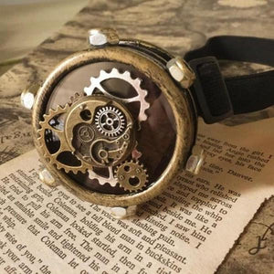 Steampunk Gear Eye Patch Mask