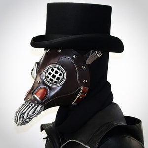 Bird Mouth Plague Doctor Mask