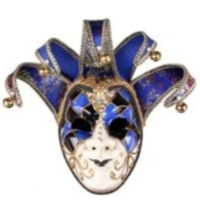 Joker Masquerade Venetian Theater Mask