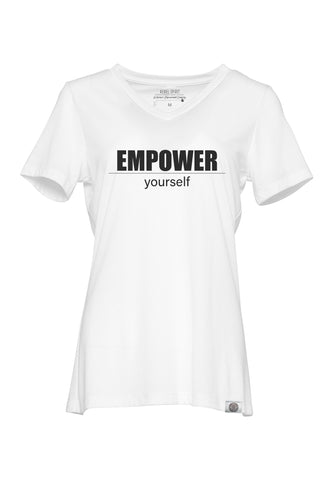 EMPOWER yourself Relaxed Fit Super Soft V Neck Tee