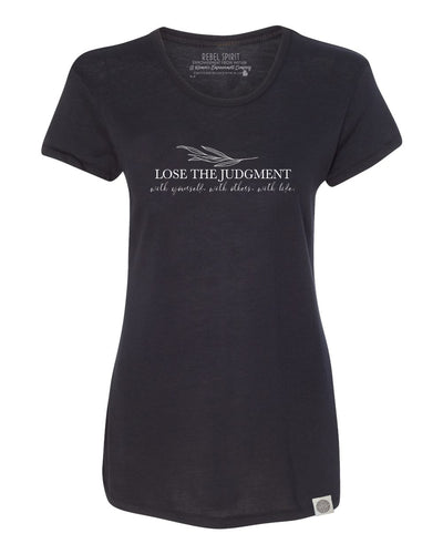 Lose the Judgment Perfect Summer Tee - Black