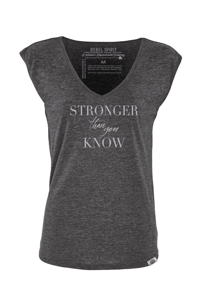 Stronger Than You Know V Neck