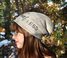 Load image into Gallery viewer, fearLESS Sparkly Slouchy Beanie