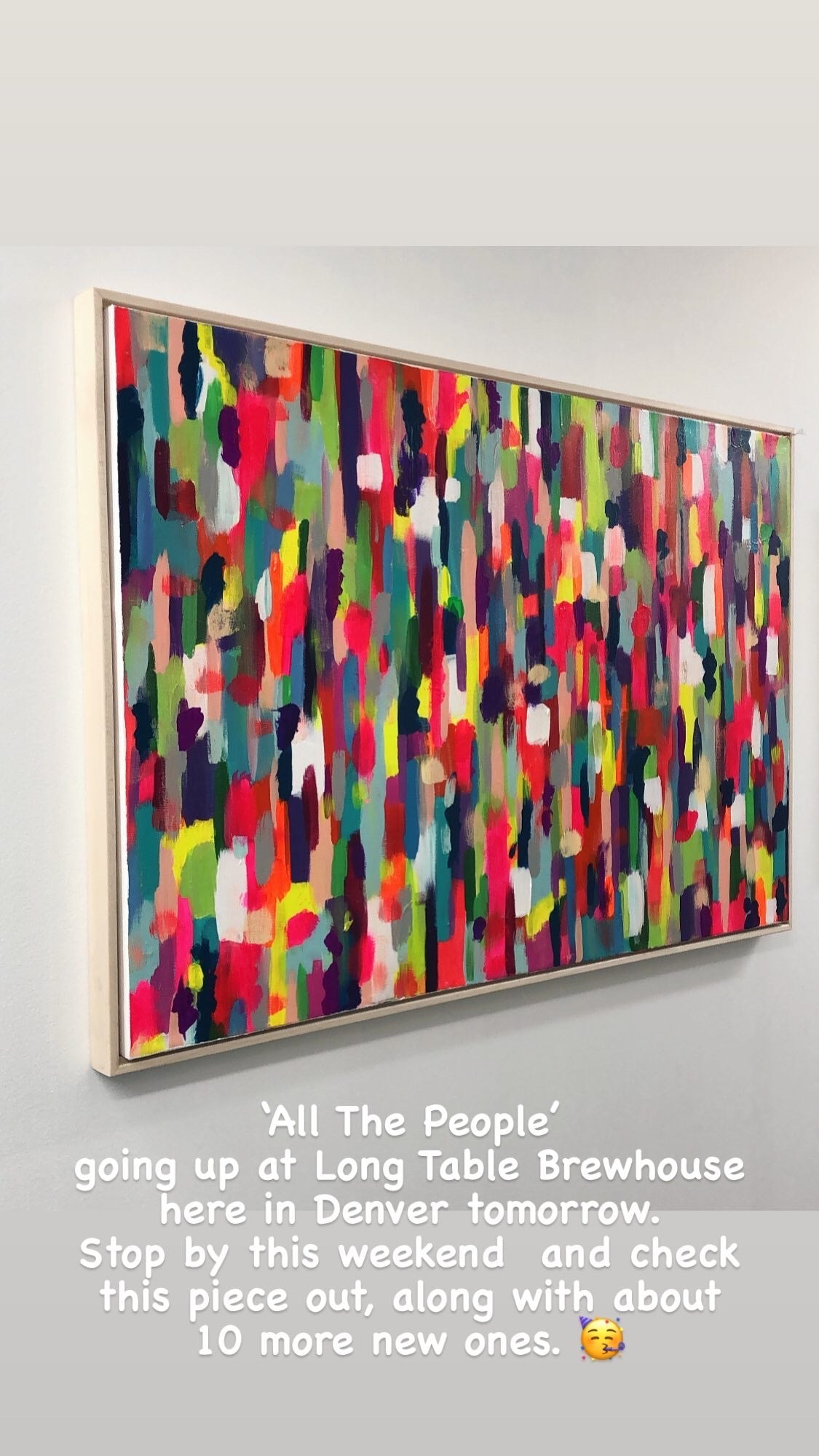 'All The People' - SOLD