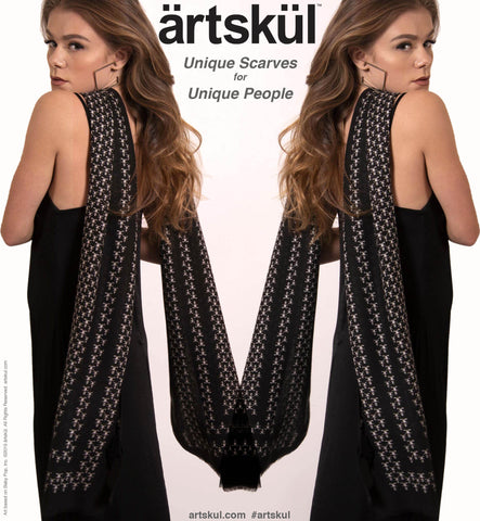 Artskul's Baby Pop Cashmere Blend Scarf. Luxurious and soft to the touch.  It's the perfect accessory to compliment any look.