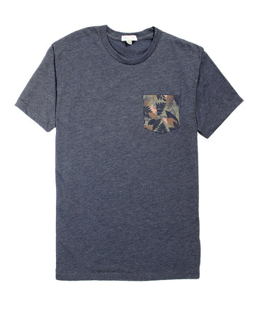 Nico Tropical Pocket Dark Tee