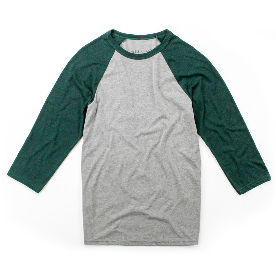 Mitch 3/4 Sleeve Baseball Tee
