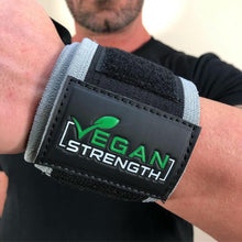Load image into Gallery viewer, Vegan Strength Power Wrist Wraps