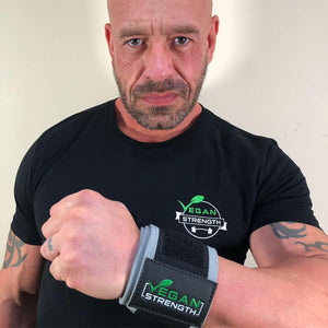 Vegan Strength Power Wrist Wraps