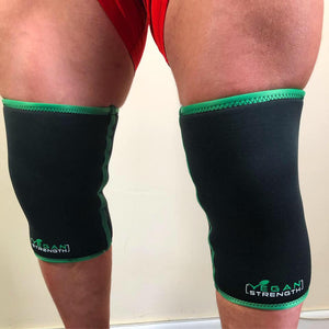 Vegan Strength 7mm Neoprene Knee Sleeves