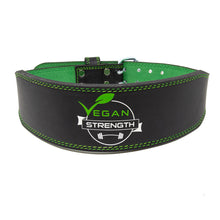 Load image into Gallery viewer, Vegan Strength 8mm Tapered Weightlifting Belt