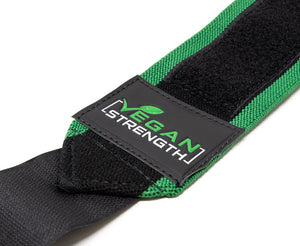 Vegan Strength Wrist Wraps