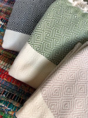 Taimane Blankets made with 100% Turkish Cotton