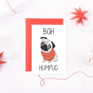bah-humpug-pug-card