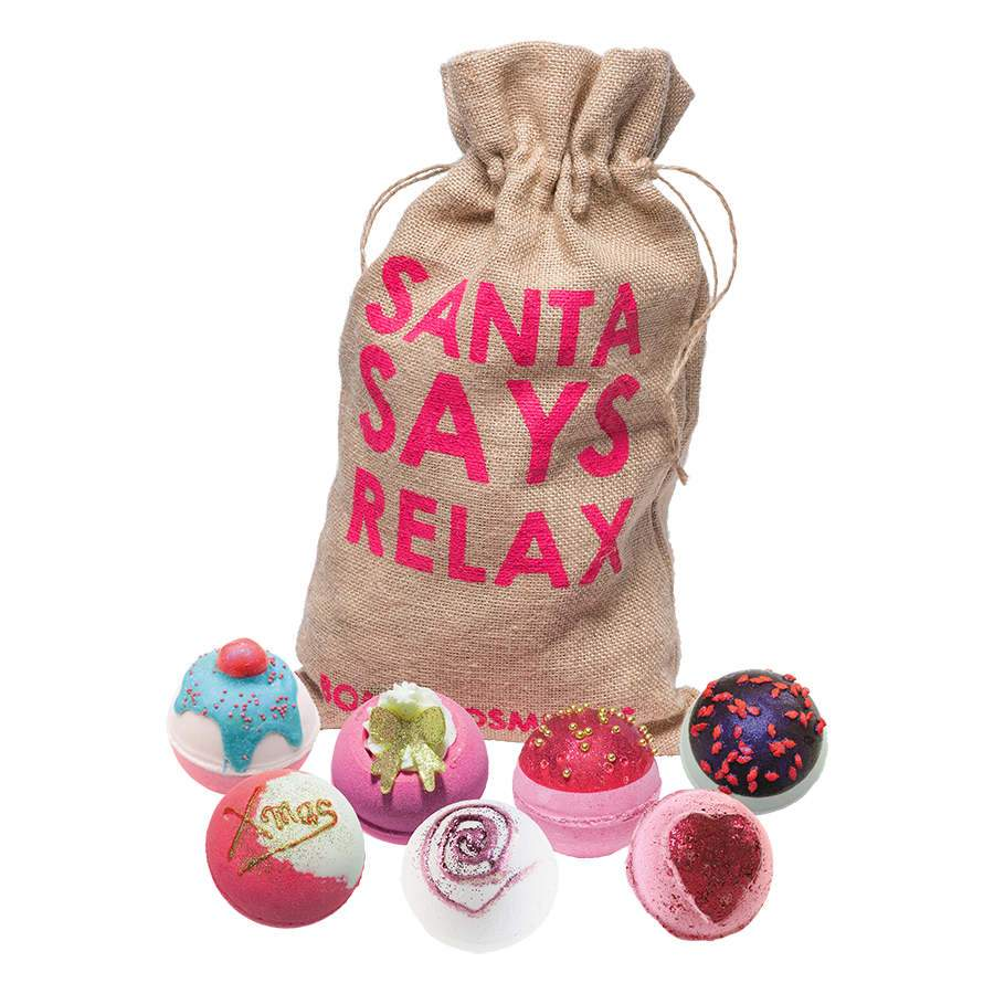Bomb Cosmetics - Santa Says Relax Gift Set - Sorted Gifts