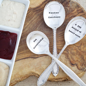 Christmas Condiments Teaspoon