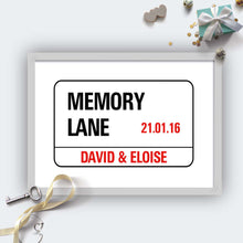 Personalised Wedding London Street Sign-grey