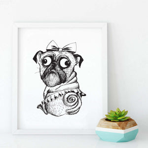 princess-pug-print-white