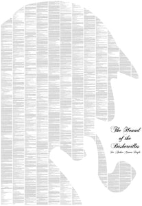 Spineless Classics - The Hound Of The Baskervilles Sherlock Holmes Print