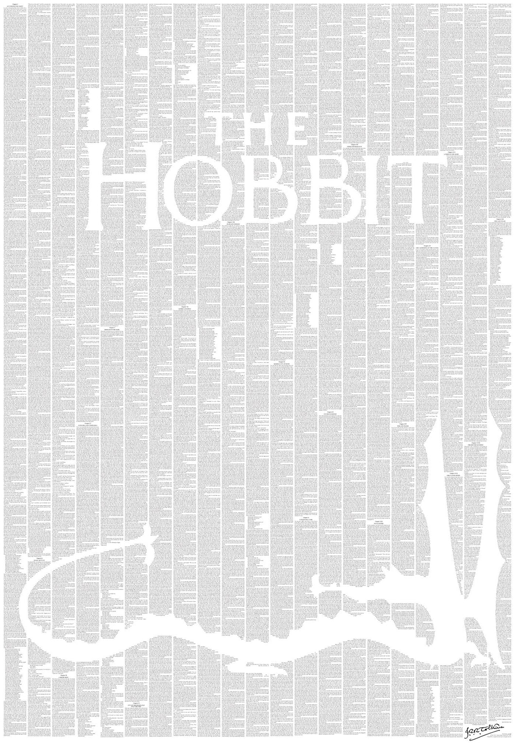 Spineless Classics - The Hobbit Print