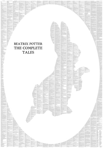 Spineless Classics - The Complete Peter Rabbit and Friends Silhouette Print