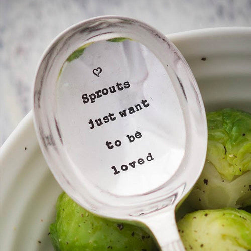 Sprouts Just Want To Be Loved Spoon