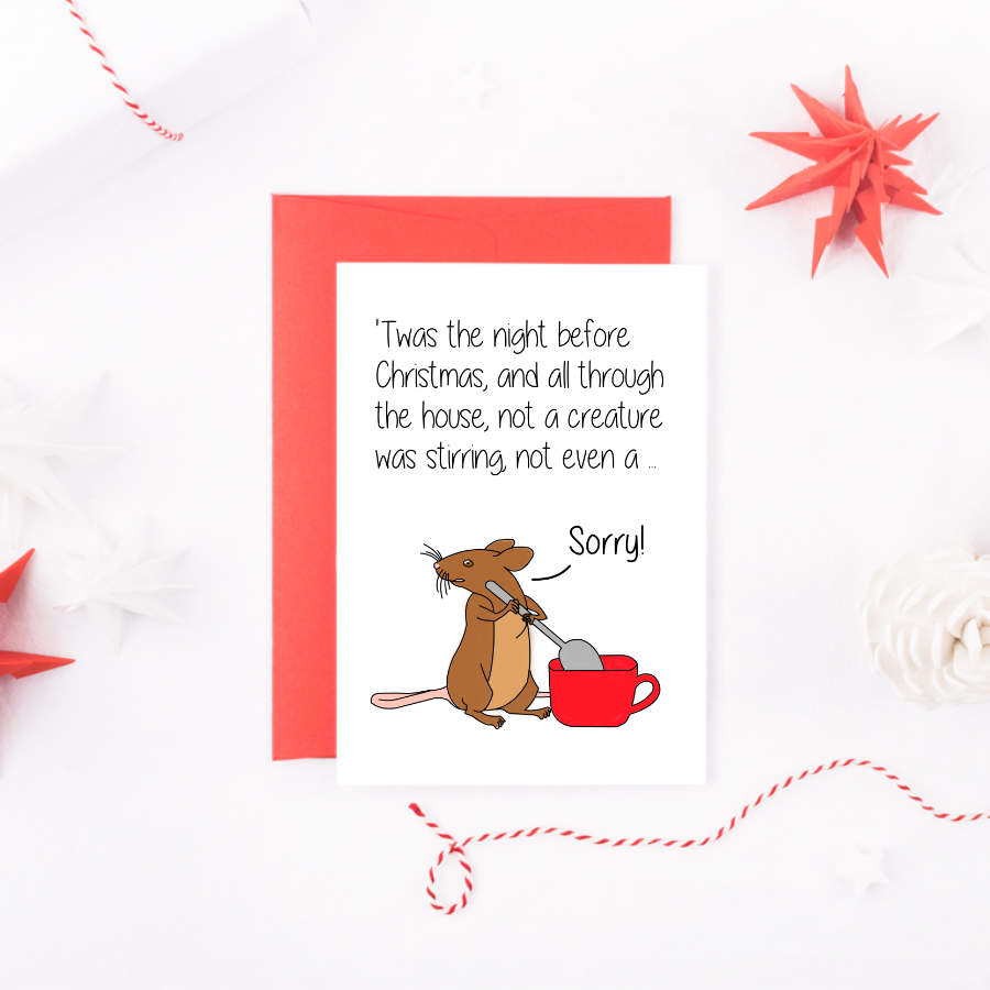 twas-the-night-before-christmas-mouse-card