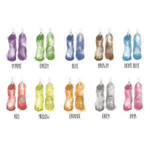 Wellies Colour Chart
