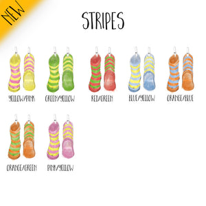 Wellies Stripe Pattern Chart