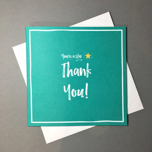 You're A Star Thank You Card