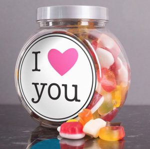 I Love You Sweets Jar