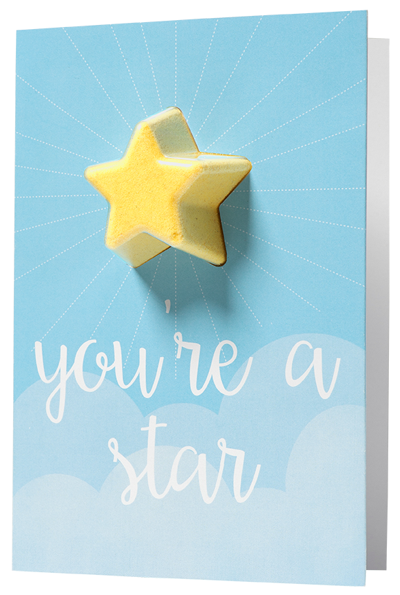 Bomb Cosmetics - You're A Star Card - Sorted Gifts