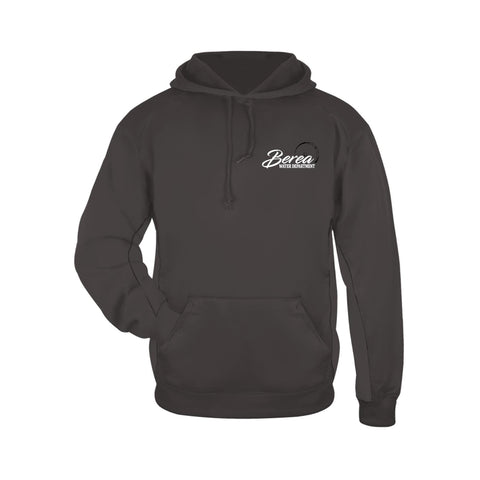 Berea Service Dept. Badger Performance Fleece Hooded Sweatshirt (Sold in 3 colors)