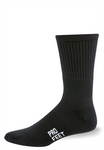 Pro Feet Black Crew Socks - 3 Pack