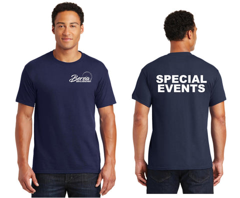 Berea Service Dept. SPECIAL EVENTS 50/50 T-Shirt