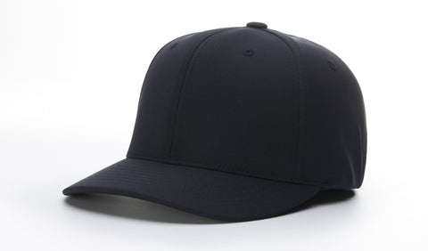 "Richardson Umpire Flexfit Combo Hat- 2-1/2"" 6 Stitch (Navy and Black)"