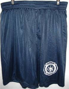 "Parma Fire Screenprinted 9"" Mesh Shorts with Pockets"