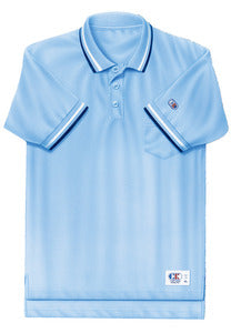 Cliff Keen Moisture Wicking Umpire Shirt (Powder Blue or Navy)