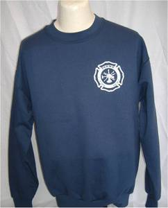 Parma Fire Screenprinted Jerzees 9.5 oz Crewneck Sweatshirt