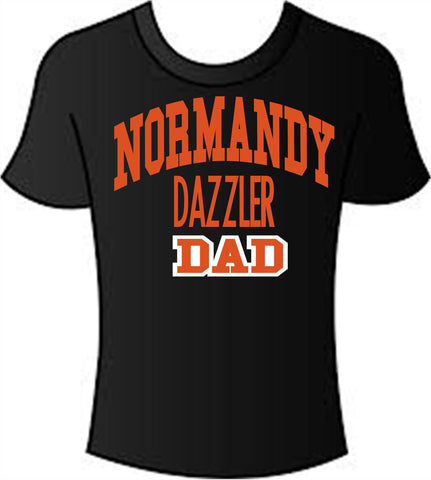 Normandy Dazzler Dad t-shirt