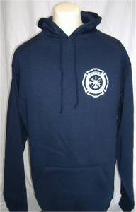 Parma Fire Screenprinted Gildan 50/50 Hooded Sweatshirt