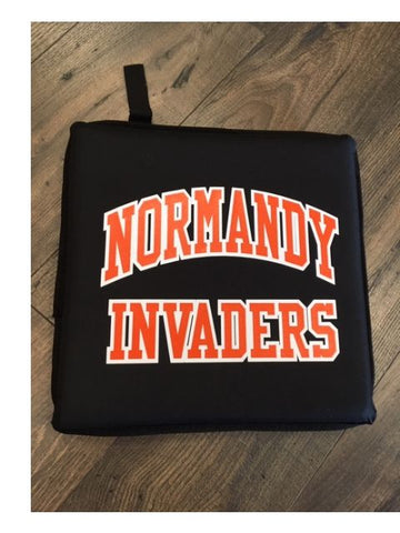 Normandy Invaders Seat Cushion