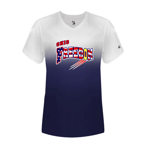 OHIO FREEDOM FASTPICH OMBRE LADIES SHIRT